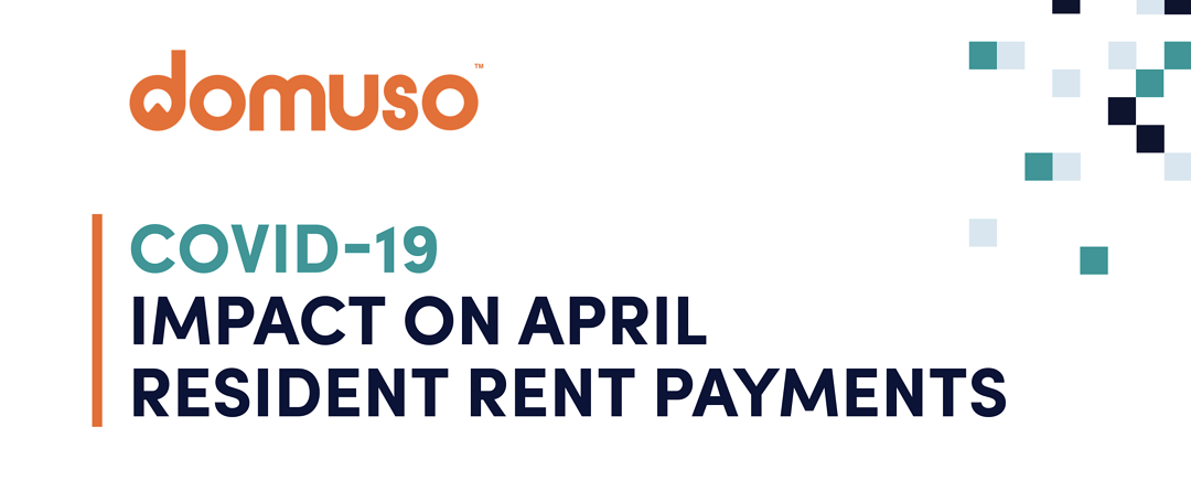 DOMUSO COVID-19 APRIL RENT TRENDS REPORT INFOGRAPHIC